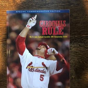 Special Commemorative Edition Cardinals Rule